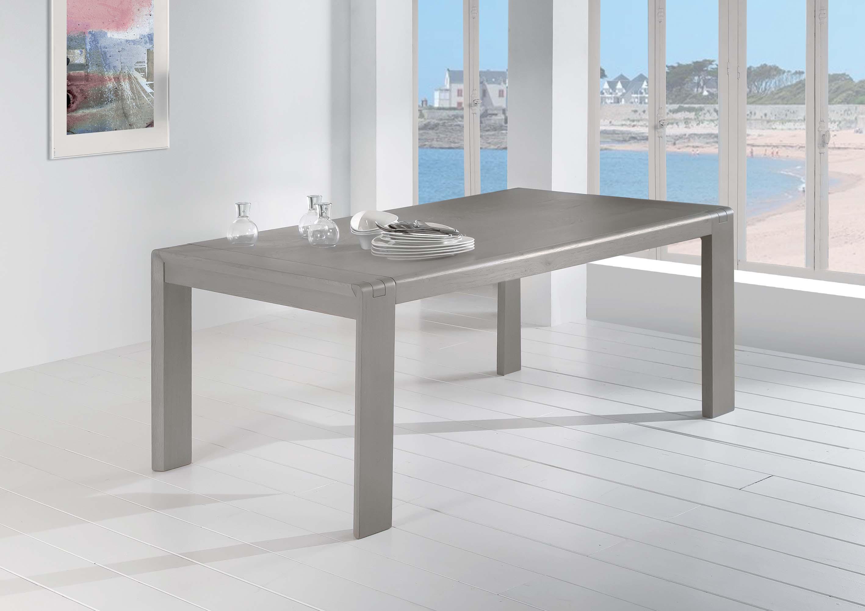 CER-Table plateau bois
