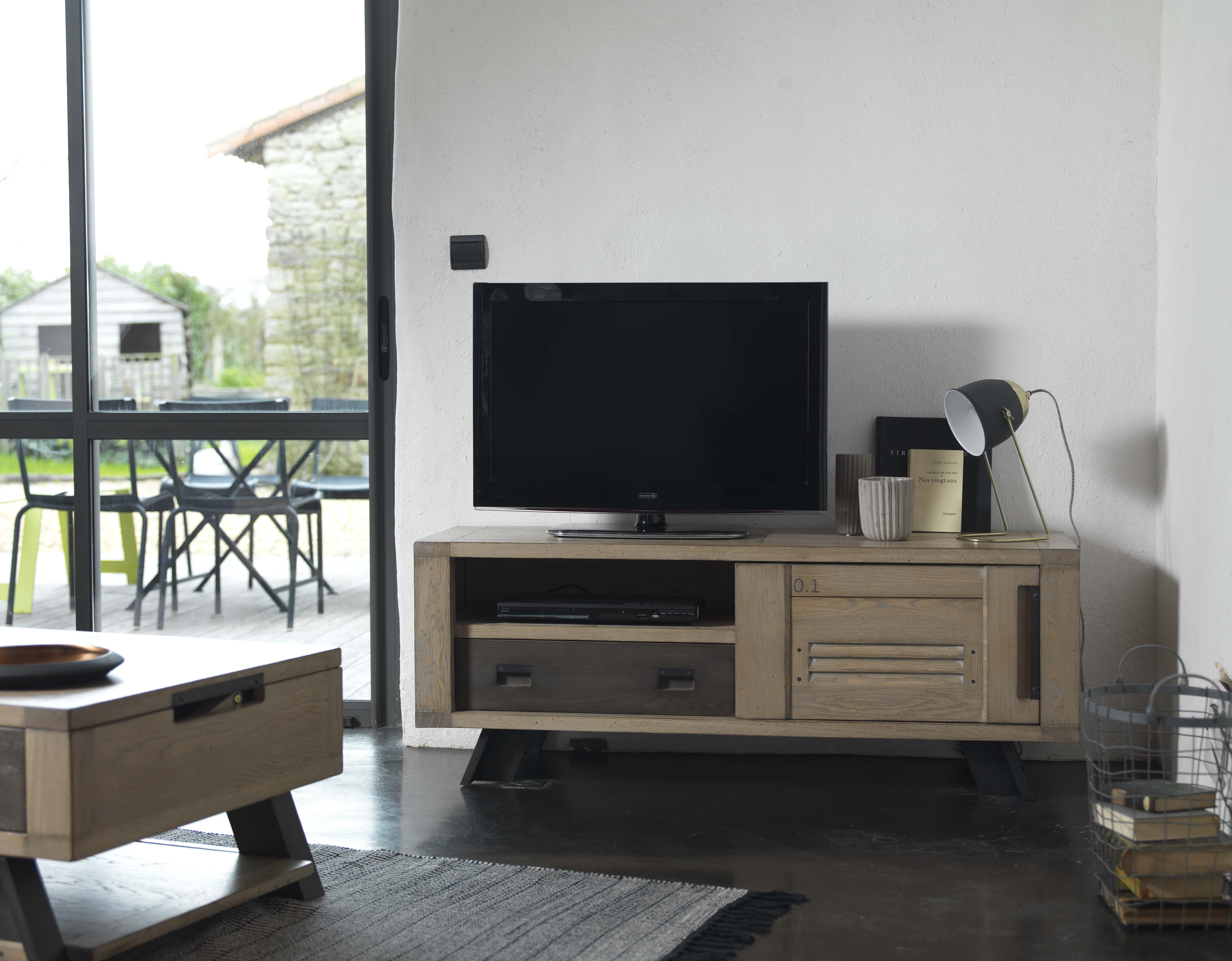 ARTI-Meubles TV 1 porte coulissante