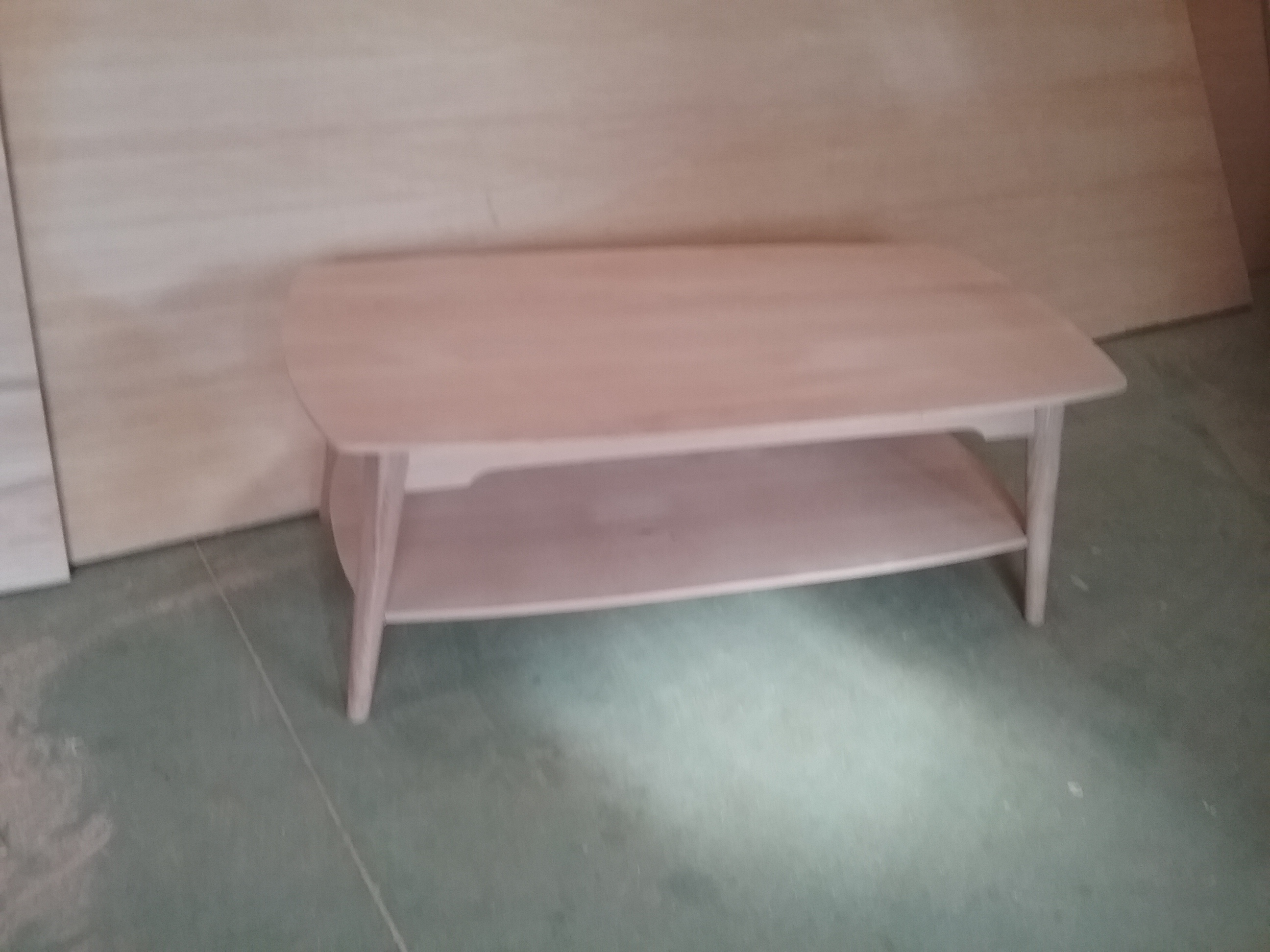 VINT-Table de salon tonneau