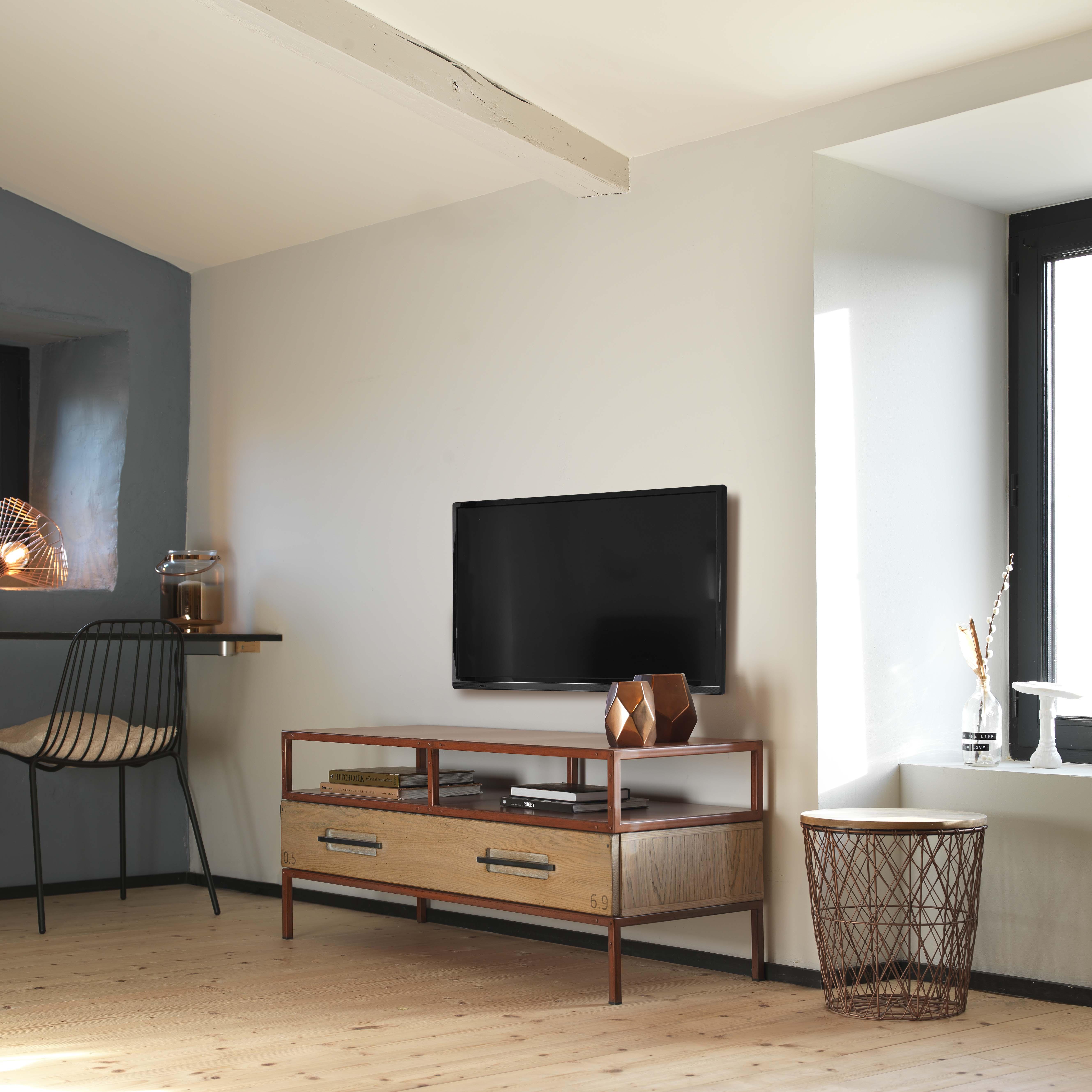 BRIS-Meuble TV 1 tiroir + 1 niche