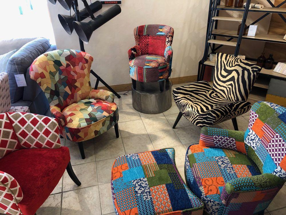 fauteuils couleur estivale