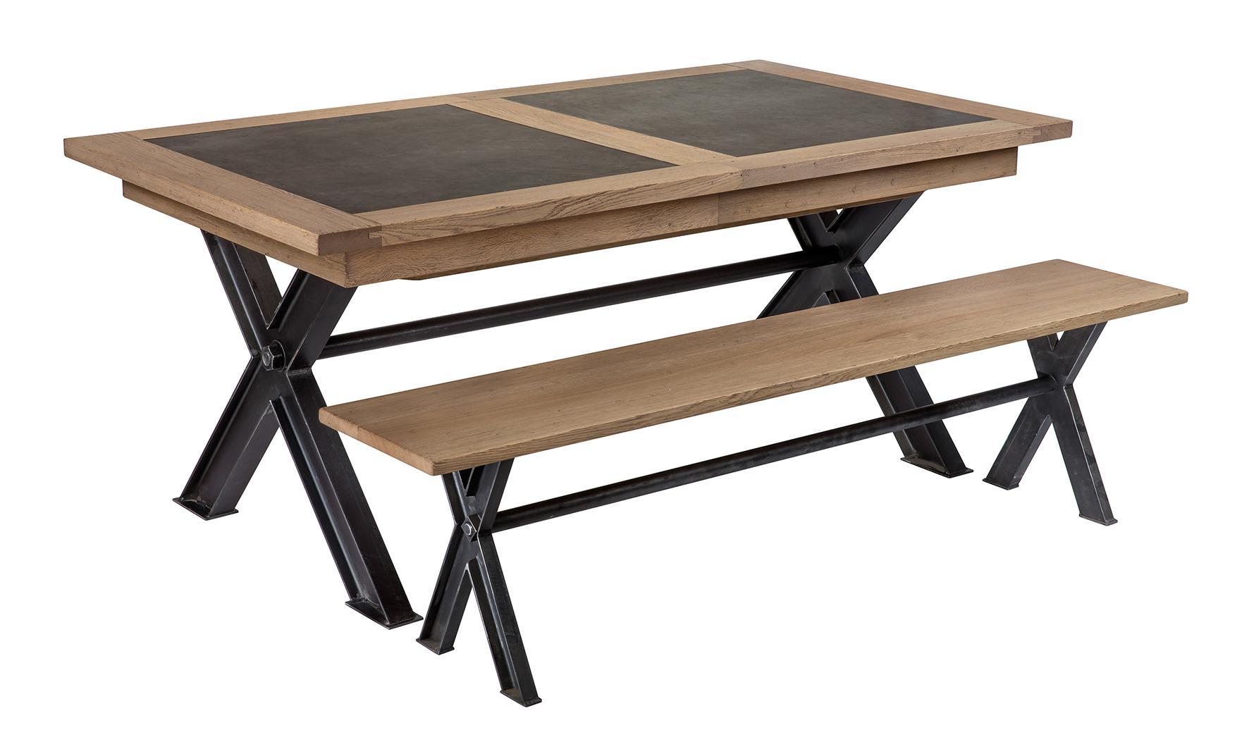 GC- TABLE FLORANGE rectangulaire Céram