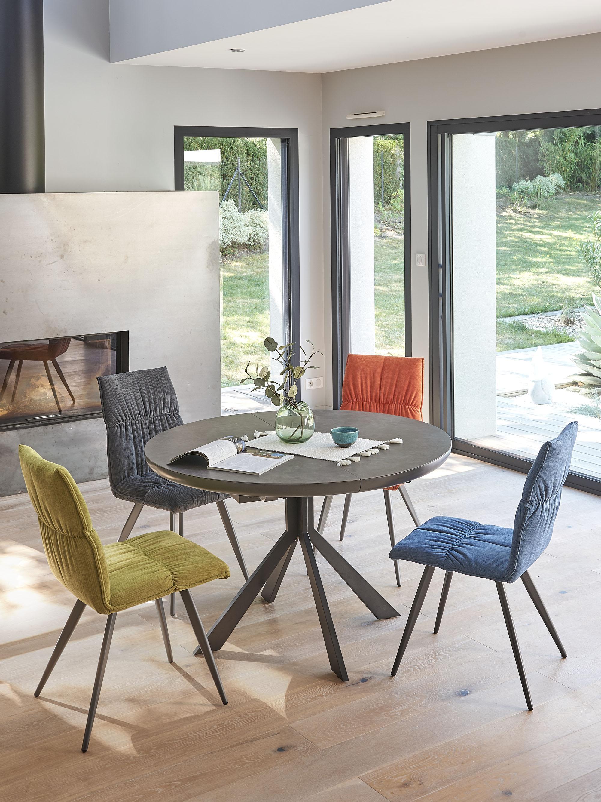 Table Ronde Céramique Vendée Design Et Robustesse